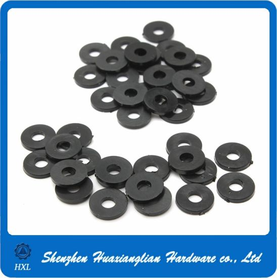 Nylon Fasteners Spacers PA PVC Derlin Black/White Plastic Washer pictures & photos