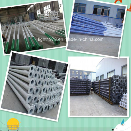 40W LED Lamp with 6m Round Galvanized Pole Factory pictures & photos
