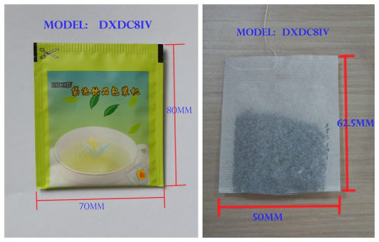 Cama Single Chamber Tea Bag Packing Machine with Heat Sealing Outer Bag (Model DXDC8IV) //31 Years Factory for Tea Bag Packing Machine// pictures & photos