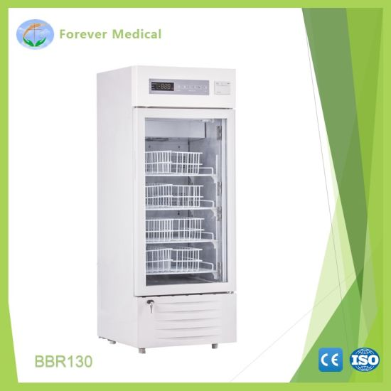 Better Cooling Effect and Energy Saving Blood Bank Refrigerator
