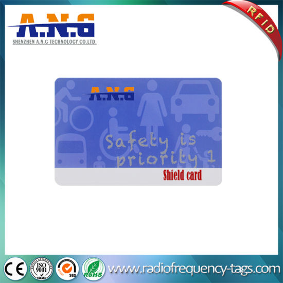 Facebook ID Card Shield / Hf RFID Smart Card Credit Card Size