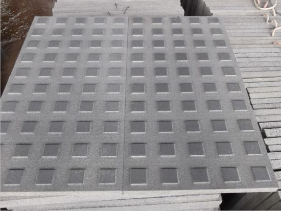 Black Basalt/Lava Stone Paving for Outdoor Construction