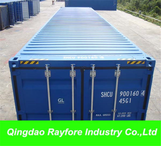 New 40FT 40hc 40hq Shipping Marine Containers in Chinese Main Ports