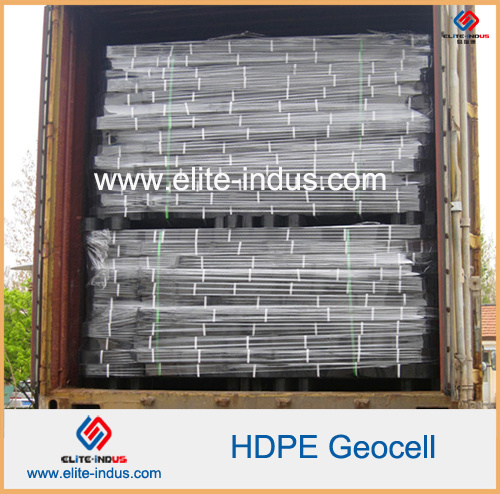 Plastic HDPE Geocell for River Soild Reinforcement pictures & photos