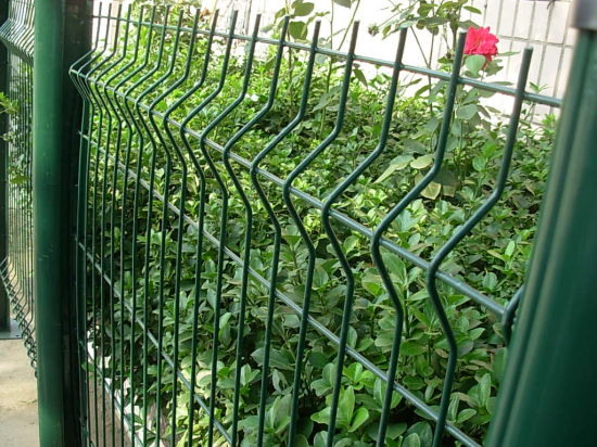 Welded PVC Coated Security Wire Mesh Garden Fence pictures & photos