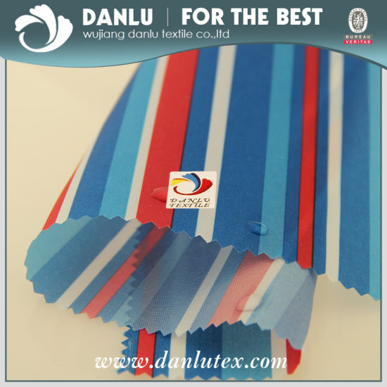 210t 100% Polyester Oxford Fabric with PU Coating Bag Fabric pictures & photos