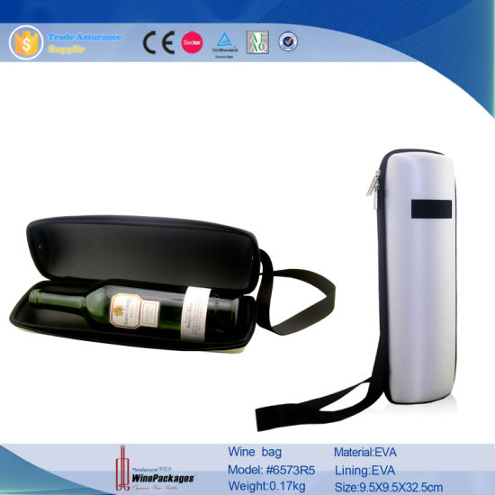 Dongguan High Quality Luxury Leather Wine Carrier (5693) pictures & photos