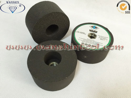5/8′′-11 Green Silicon Carbide Grinding Stone for Granite Marble pictures & photos