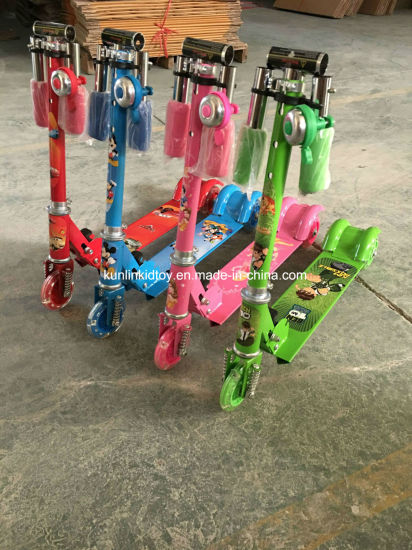 Hot Selling Aluminum Scooter Three Wheel Kid Scooter