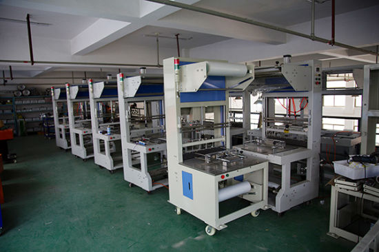 Manual Sealing Shrinking Packing Machine Semi Auto Seal Shrink Packaging Machinery with furnace and Conveyor pictures & photos