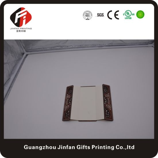 China High Quality Customized Wedding Invitation Card