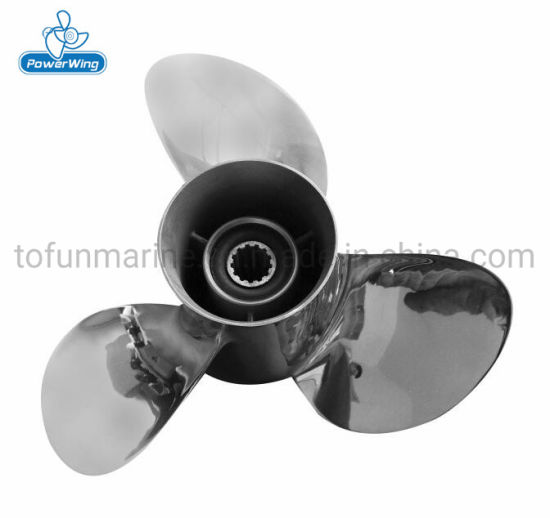 Powerwing Stainless Steel Propeller for Outboard YAMAHA Motor (PWY111813S)