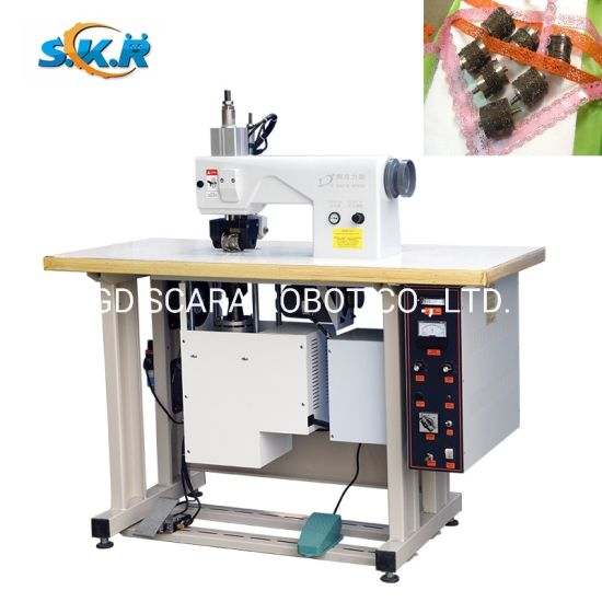 Ultrasonic Lace Making Machine for Materials Embossing Lace Sewing