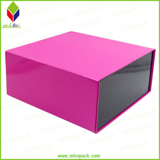 Matt Finish Magnetic Collapsible Foldable Paper Packaging Gift Box
