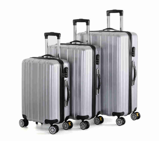 2019 New Fashion ABS Travel Luggage in Silver Color (XHP084)