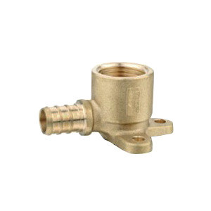 Forged Brass Pex Fittings Drop Ear Elbow for Use in Plumbing Water System