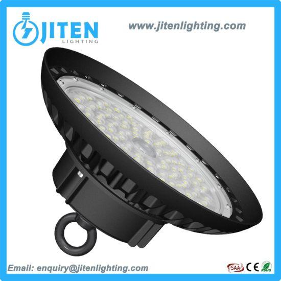 Ce RoHS ETL UL SAA Warehouse Factory Industrial Lighting UFO LED Highbay Lamp Best Prices 50W 100W 120W 150W 200W 250W 300W UFO LED High Bay Light
