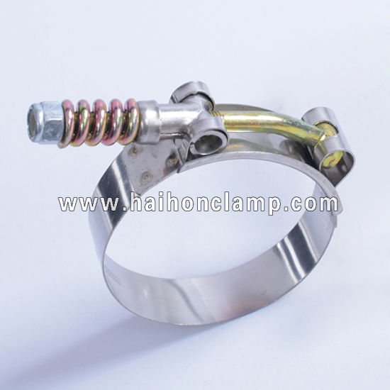 63mm W4 Stainless Steel T-Bolt Hose Clamps AutoSiliconeHoses 2 x 60mm