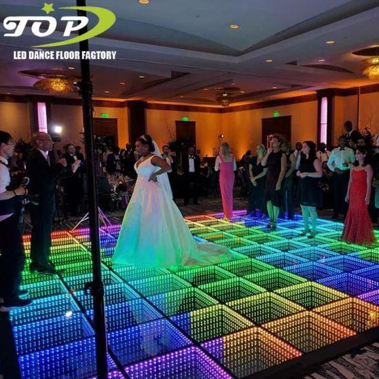 Wholesale Price Disco Wireless 3D Infinity Mirror LED Dance Floor