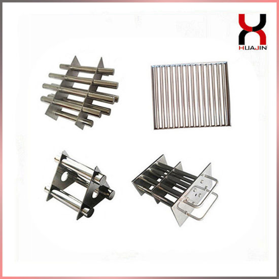 Neodymium Permanent Industrial Strong Hopper Round/Rectangle Magnetic Filter/Grate/Grill/Frame Magnet