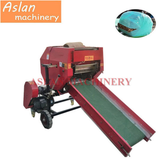 Multi-Function Silage Baler Machine/ Agriculture Round Corn Silage Wrapping Machine/ Automatic Grass Silage Round Packing Machine