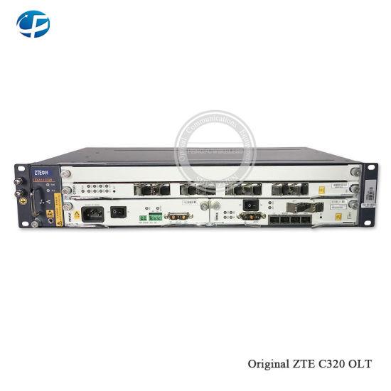 100% Original New 1000m Gpon Olt Zte C320 Smxa/1 Card*1PCS with 1*Pram 8 Ports Gtgo Gpon C+ Business Board AC+DC Power Supply