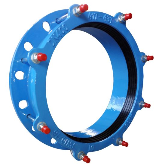 Universal Wide Range Flexible Ductile Iron Flange Adaptor Dn150 pictures & photos