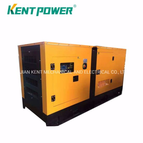 100kw 110kw 120kw Cummins Engine Silent Diesel Power Generator Electirc Genset