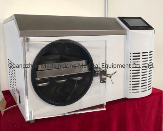Silicone Heating Food Vacuum Freeze Dryer China for Home and Lab Mslfv04 pictures & photos