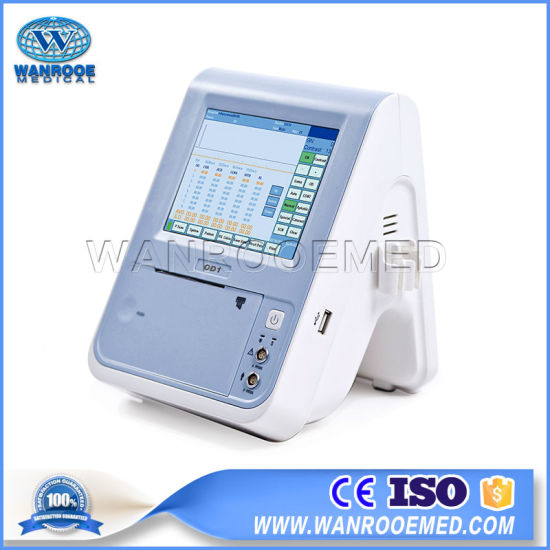 Hospital Equipment Portable Ophthalmic Eye a Scan Ultrasound Scanner with Pachymeter pictures & photos