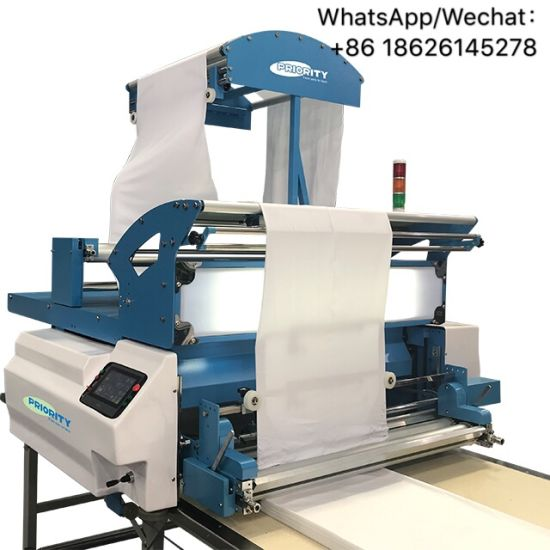 Automatic Spreading Machine for Tubular Fabric Automatic Spreader