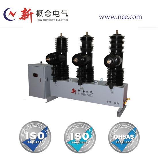 Outdoor Permanent-Magnetic Actuator Power Distribution High Voltage Vacuum Circuit Breaker