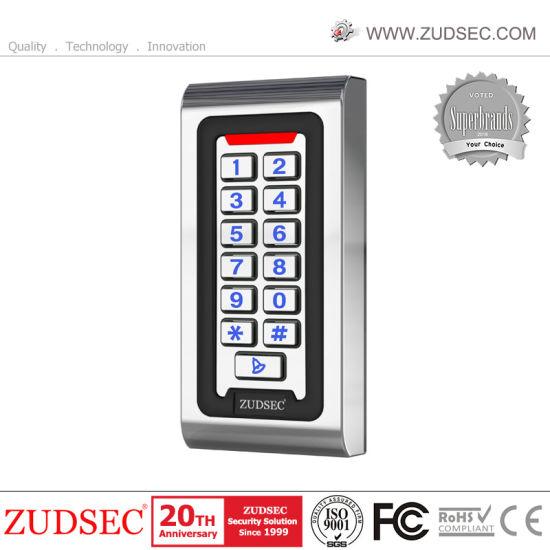 Waterproof Metal RFID Door Access Control with Luminous Keyboard