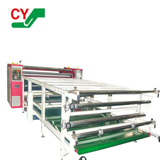 Roll to Roll Large Format Heat Press Machine for Textile Fabric