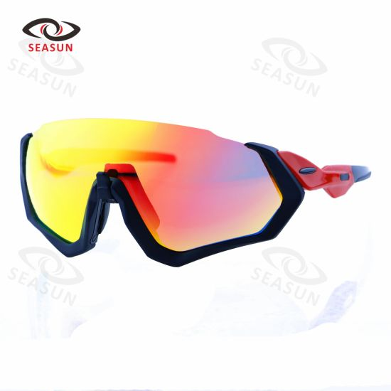 HD Vision with Interchange Lens Glasses Night Driving Sport Sunglasses