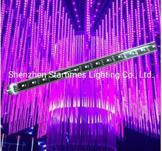 5 Years Warranty LED DMX Madrix Addressable 3D Crystal Tube Christmas Decorations Wedding Decoration Light LED Lighting RGB Pixel LED Tube
