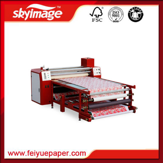 480*1700mm Roll to Roll Heat Drum Sublimation Transfer Machine for Textile