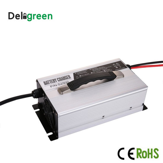 Deligreen New S2500 12V 24V 36V 48V 72V 84V 5A 10A 15A 20A 25A 35A 45A 18650 Lipo Battery Charger