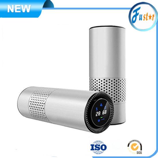 Gesture Control 4in1 Metal Materials Portable UV HEPA Filter Desktop Air Oil Diffuser