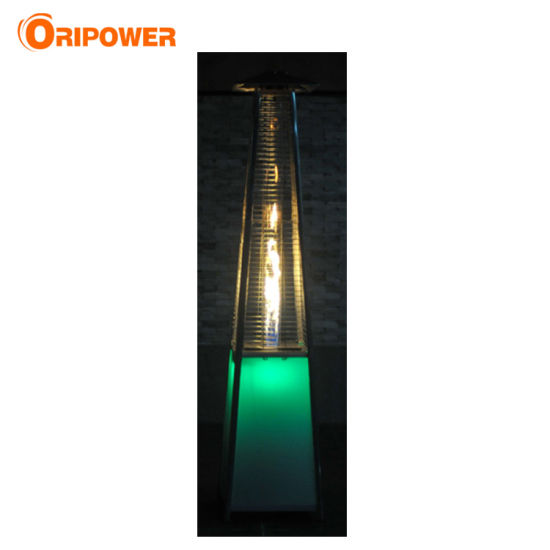 China Real Flame Pyramid Patio Heater