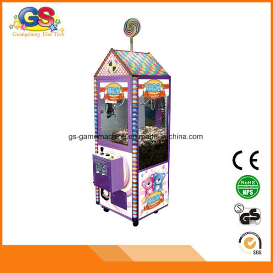 Kids Coin Operated Prize Redemption Vending Crane Game Machine pictures & photos