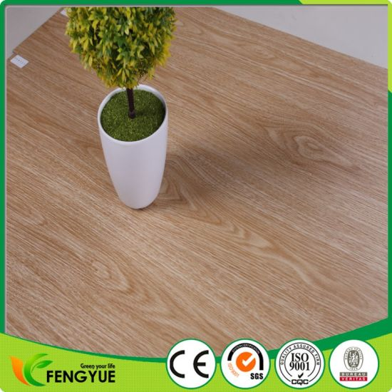 Waterproof Non Slip Anti Static PVC Wood Flooring pictures & photos