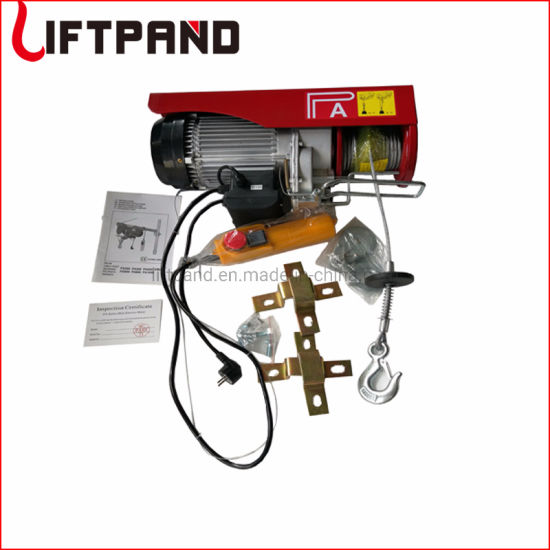 Euro Germany Standard Mini Electric Hoist with Down Limit Position