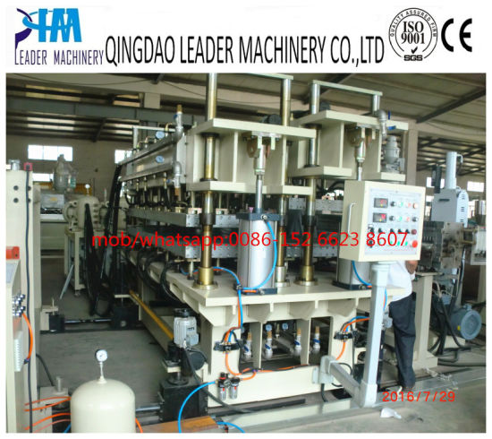 Lexan PC Hollow Sheet Extrusion Line pictures & photos