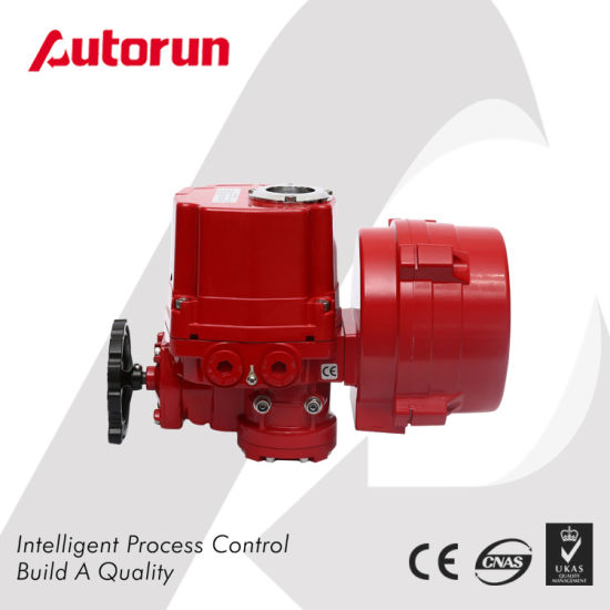 Wenzhou Supplier Modulating Explosion Proof Quarter Turn Electric Actuator pictures & photos