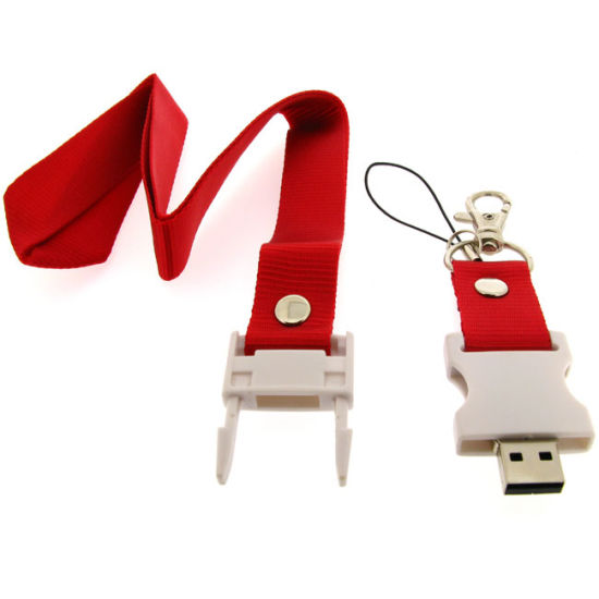 Reasonable & Acceptable Price Factory Directly Lanyard Neck Strap USB Flash Drive pictures & photos