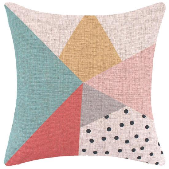 China Square Decorative Living Room Sofa Car Back Pillows Cover ...