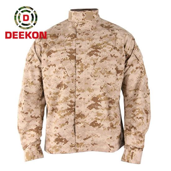 Saudi Arabia Desert Digital Plain Camouflage Military Acu Uniform