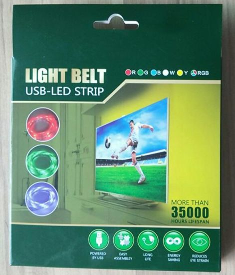 TV Mood Light Computer Laptop USB 5V LED Strip pictures & photos