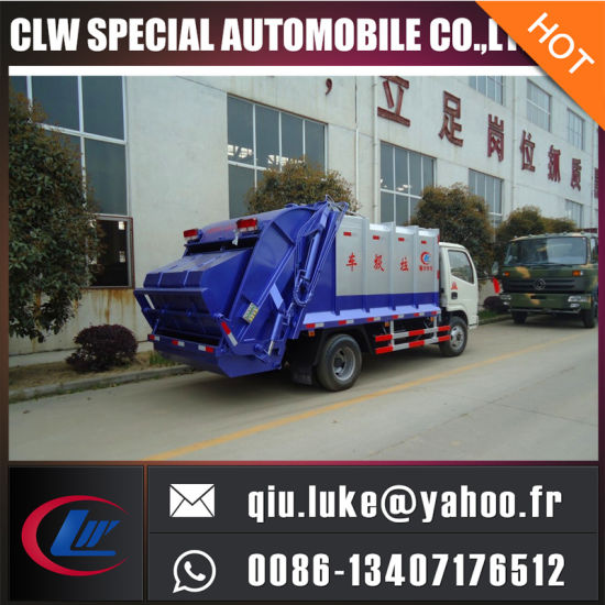 3cbm Refuse Compression Truck pictures & photos